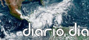 Vista desde el espacio del huracán Eta azotando el istmo centroamericano. Murieron decenas de personas con las lluvias, deslaves e inundaciones, y más de dos millones resultaron afectadas por los daños materiales. Imagen: NASA